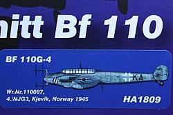 Messerschmitt BF110G-4