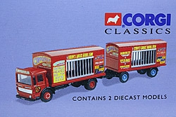 AEC Cage truck&trailer